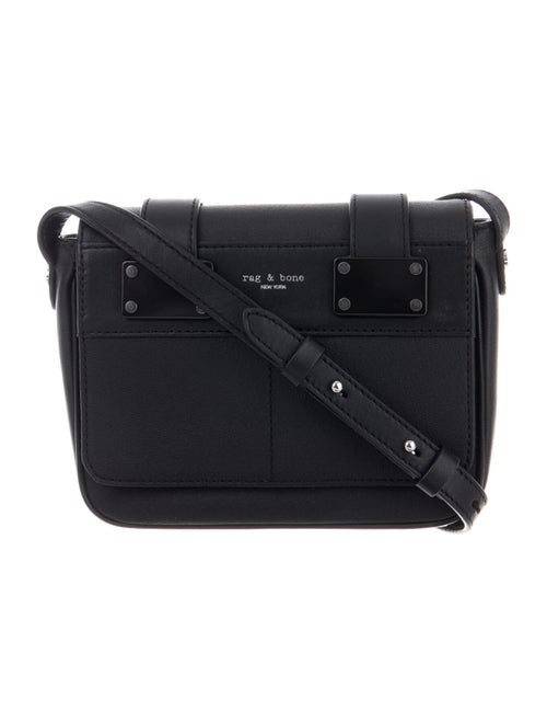 Rag & Bone Leather Crossbody Bag Black