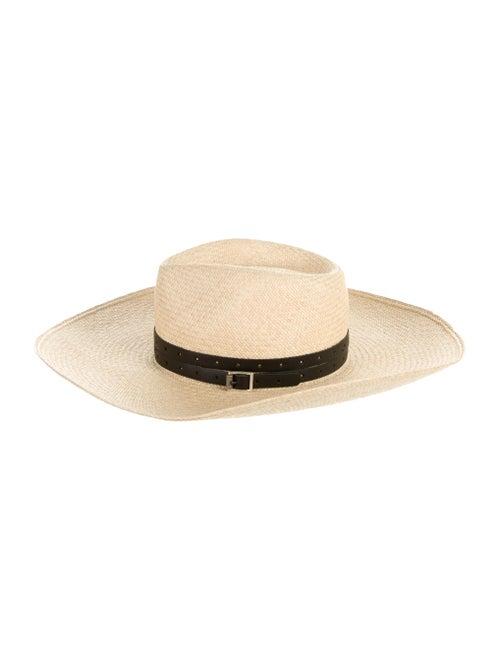 Rag & Bone Wide Brim Straw Hat Tan - image 1