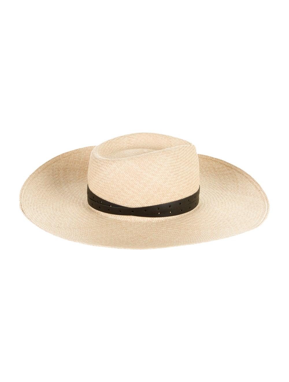 Rag & Bone Wide Brim Straw Hat Tan - image 2