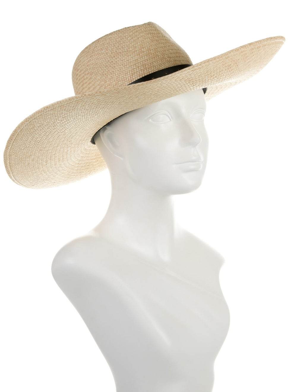Rag & Bone Wide Brim Straw Hat Tan - image 3