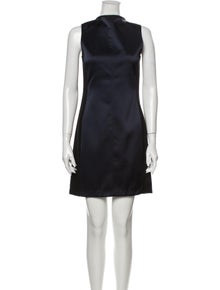 Rag & Bone Bateau Neckline Mini Dress