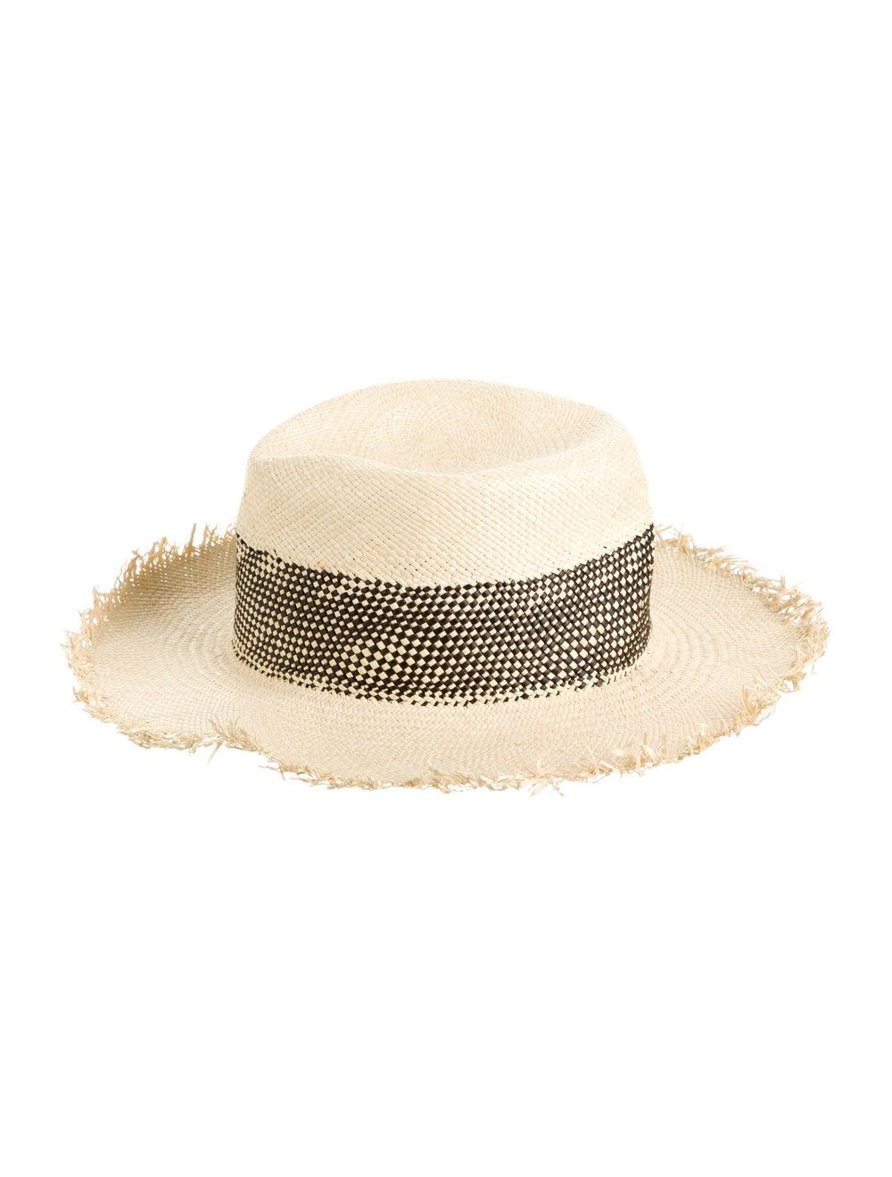 Rag & Bone Straw Wide Brim Hat - image 1