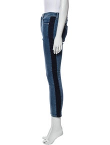 Rag & Bone High-Rise Skinny Leg Jeans