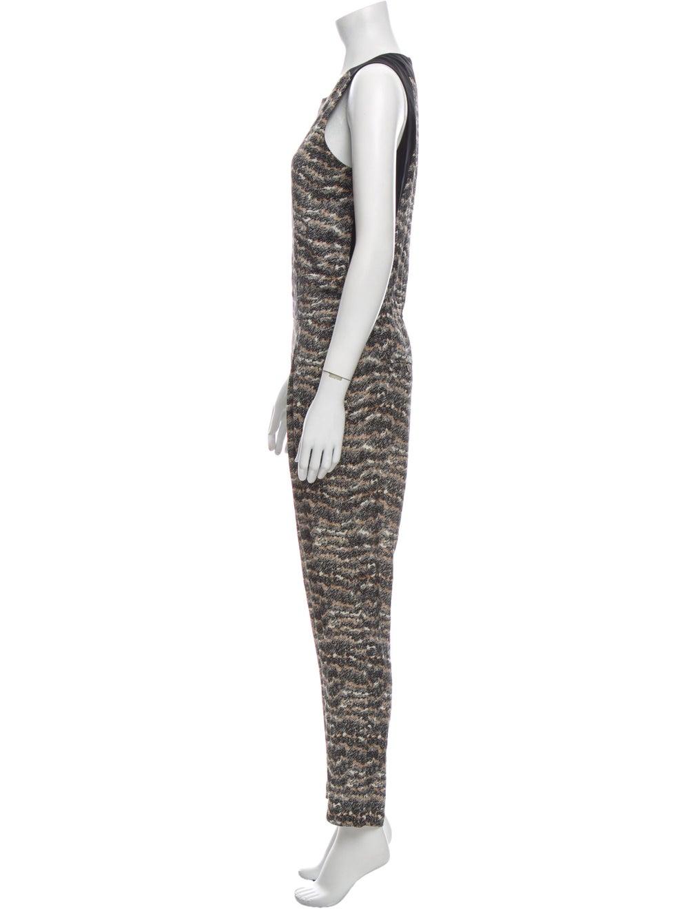 Rag & Bone Silk Printed Jumpsuit - image 2