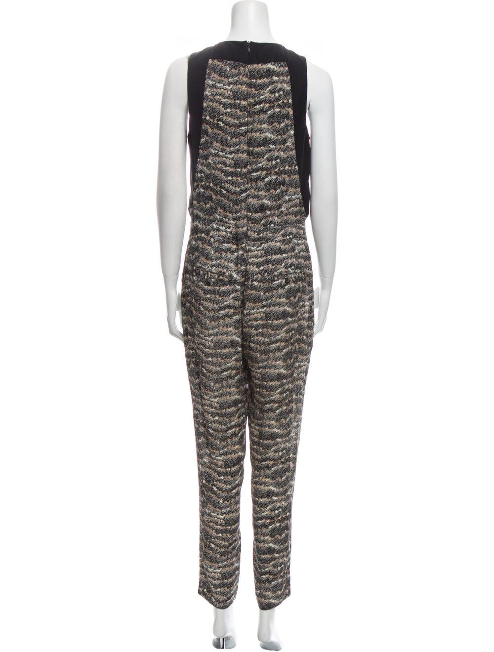 Rag & Bone Silk Printed Jumpsuit - image 3