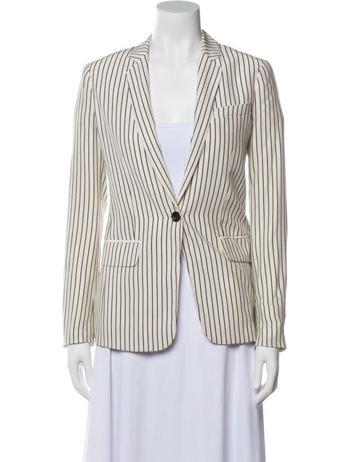 Rag & Bone Silk Striped Blazer - image 1