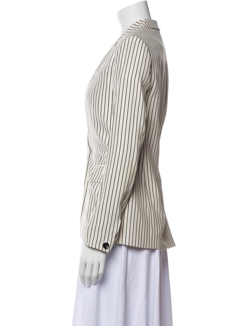 Rag & Bone Silk Striped Blazer - image 2