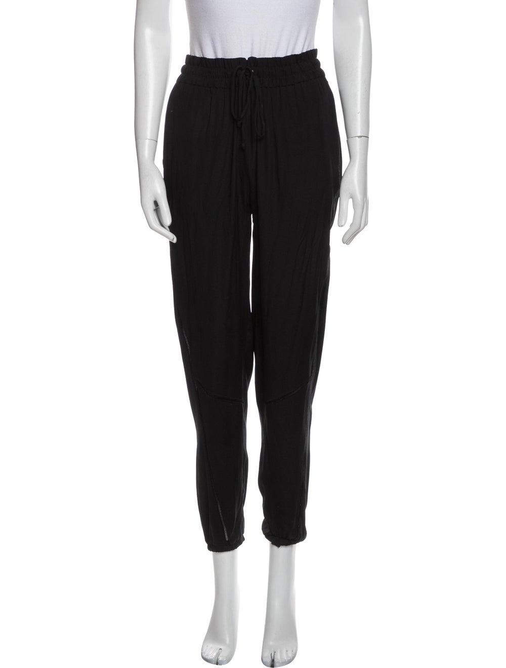 Rag & Bone Silk Sweatpants Black - image 1