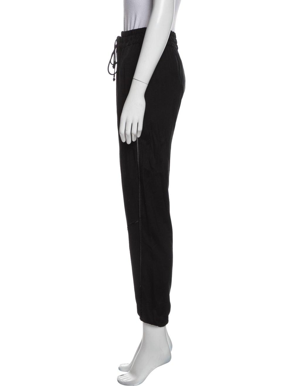Rag & Bone Silk Sweatpants Black - image 2