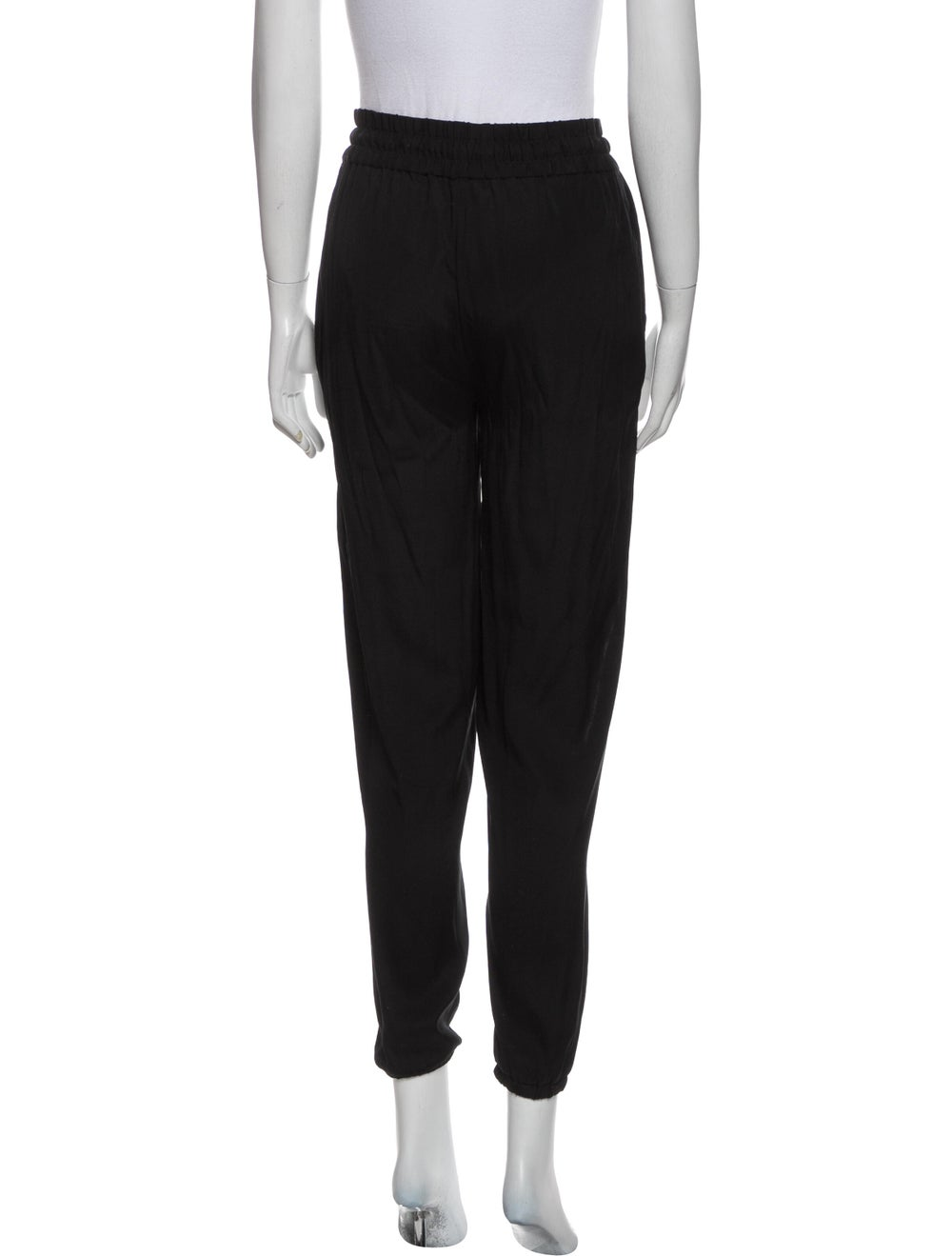 Rag & Bone Silk Sweatpants Black - image 3