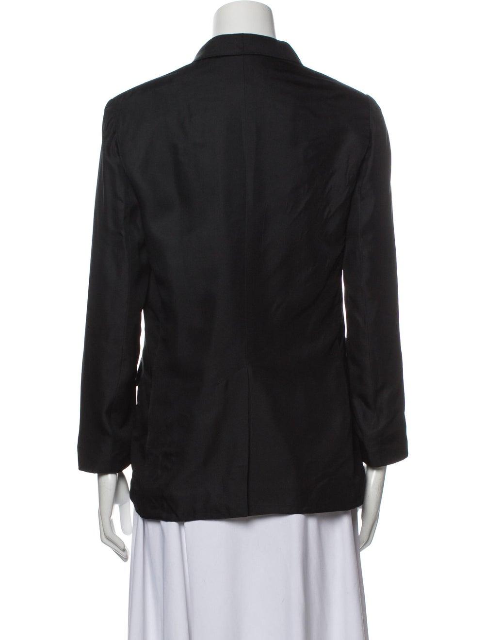 Rag & Bone Silk Blazer Black - image 3