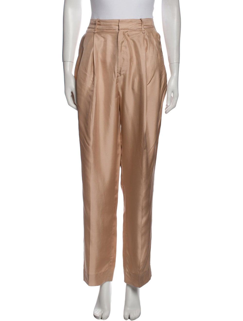Rag & Bone Silk Straight Leg Pants - image 1
