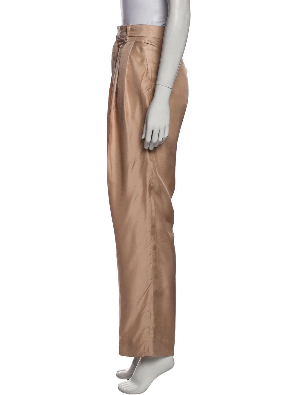 Rag & Bone Silk Straight Leg Pants - image 2