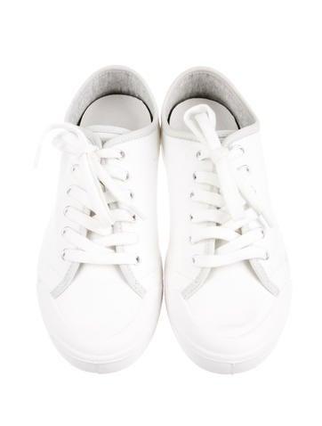Round-Toe Sneakers