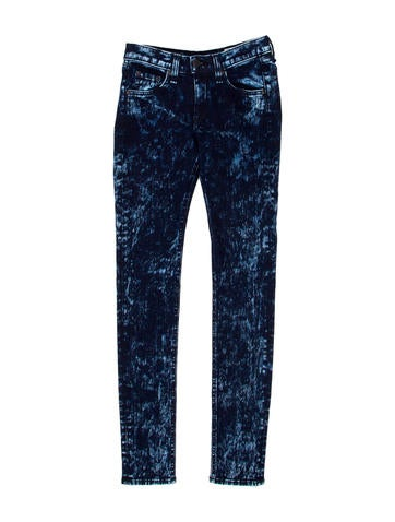 Acid Wash Skinny Jeans w/ Tags