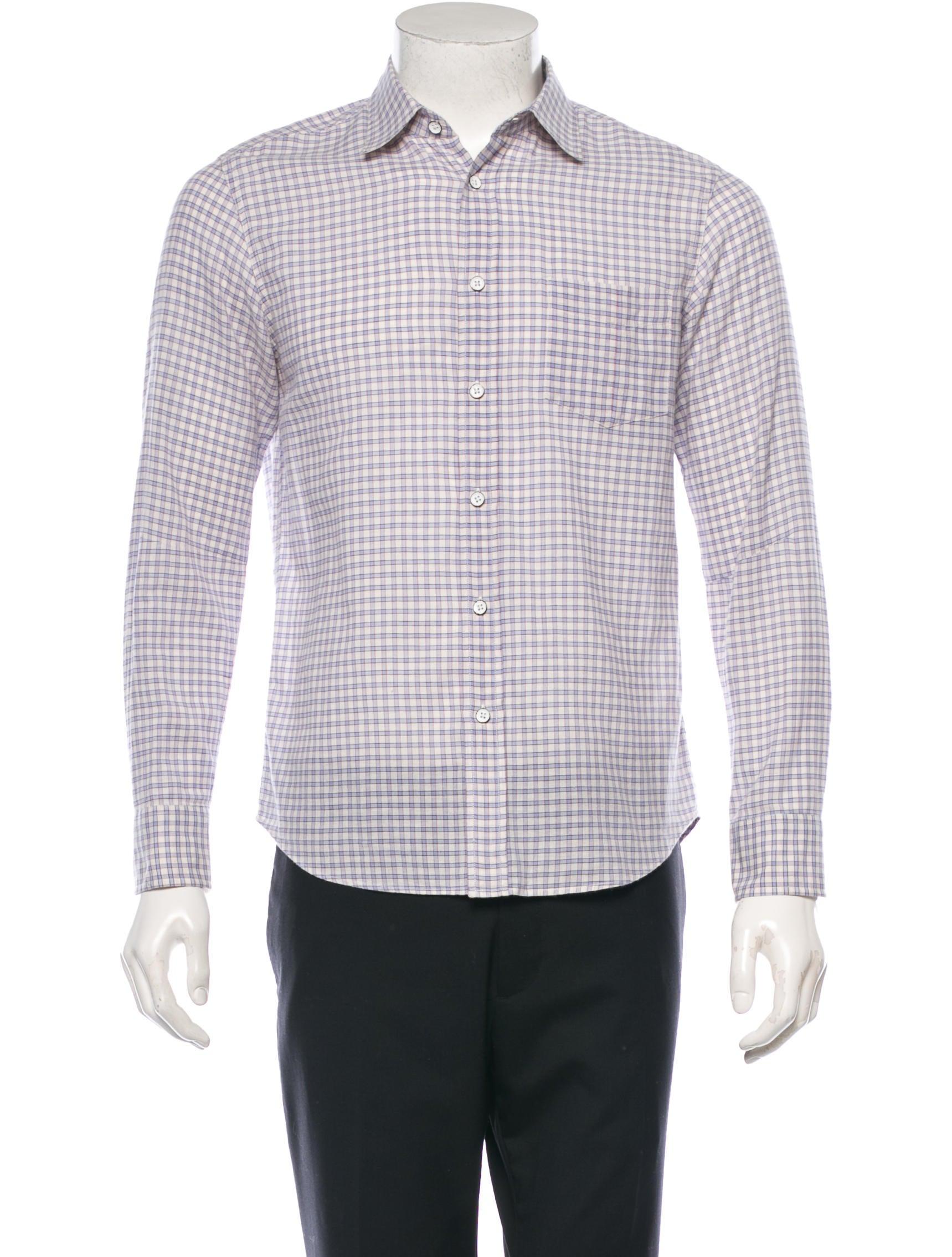 Rag Bone Long Sleeve Button Up Shirt Clothing