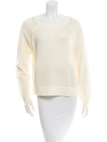 Rag & Bone Open Knit Scoop Neck Sweater w/ Tags None