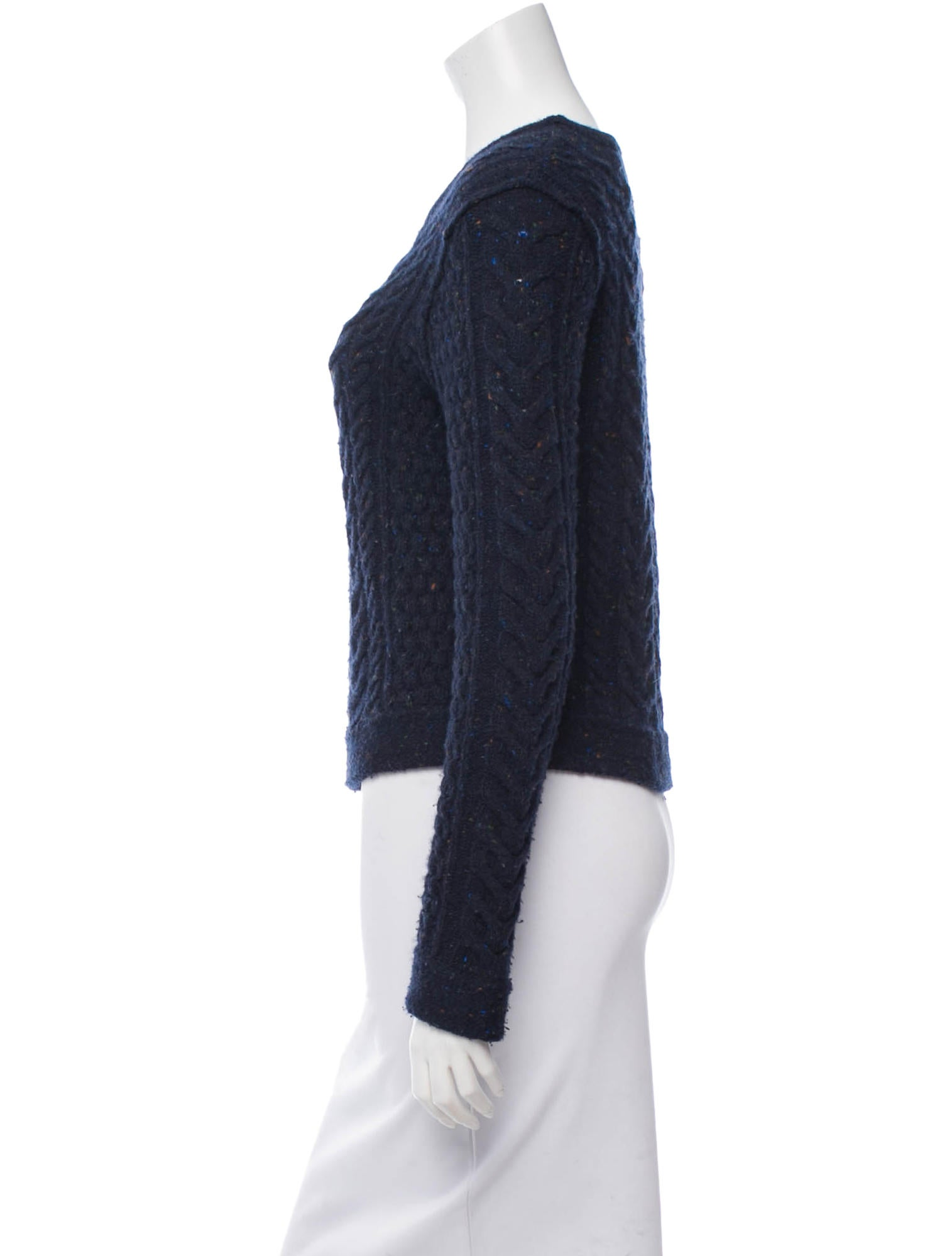 Cable Knit Crew Sweater 56