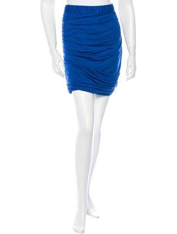 Rag & Bone Knit Knee Length Skirt None