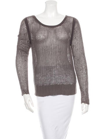 Rag & Bone Knit Long Sleeve Sweater None