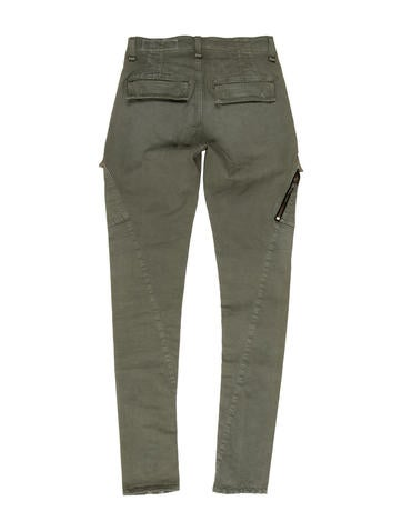 Distressed Skinny Pants