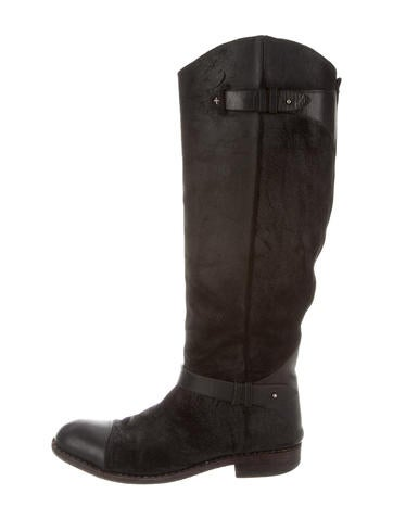rag bone suede knee high boots shoes wragb43844
