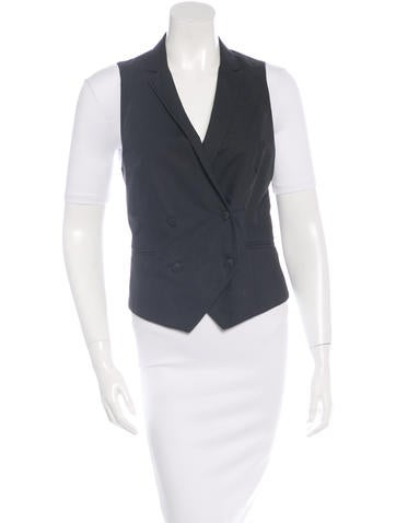 Wool Double-Breasted Vest