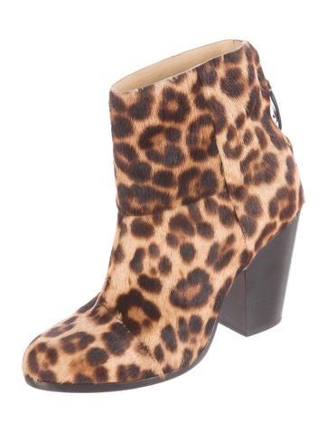 Pony Hair Newbury Boot
