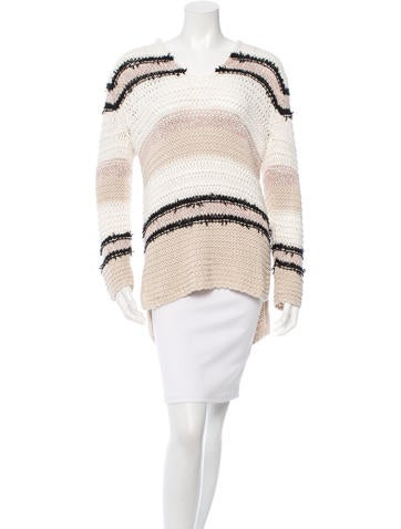 Rag & Bone Knit Beach Hoodie None