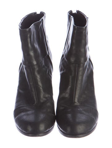 Leather Newbury Ankle Boots