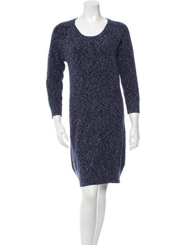 Rag & Bone Long Sleeve Sweater Dress None