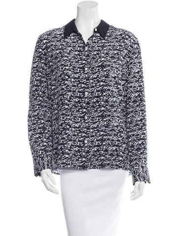 Rag & Bone Long Sleeve Silk Top None