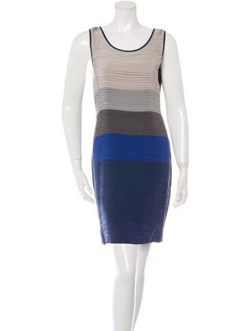 Rag & Bone Sleeveless Colorblock Dress None