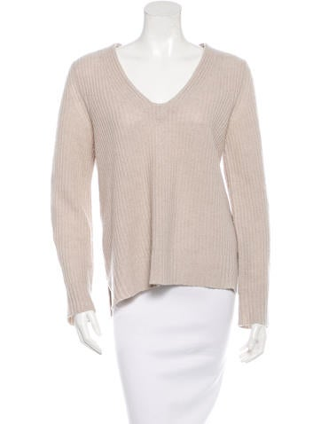 Rag & Bone V-Neck Pullover Sweater None
