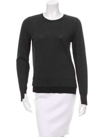 Rag & Bone Wool Rib Knit Sweater None