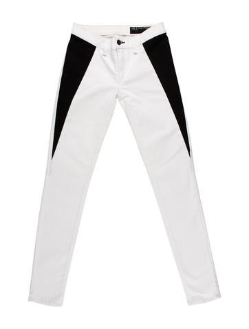 Rag & Bone Colorblock Skinny Jean