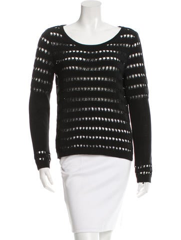 Rag & Bone Open Knit Sweater None