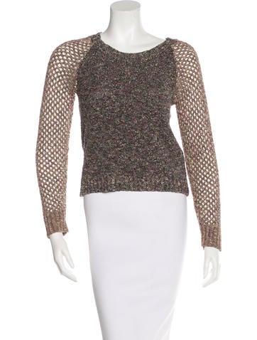 Rag & Bone Tweed Knit Sweater None