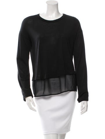 Rag & Bone Long Sleeve Knit Top None