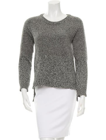 Rag & Bone Wool-Blend Rib Knit Sweater None