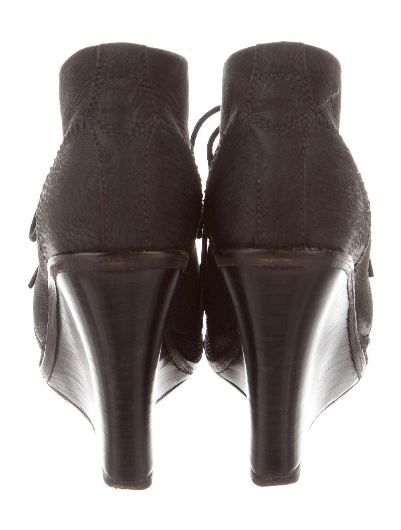 rag bone leather lace up ankle boots shoes