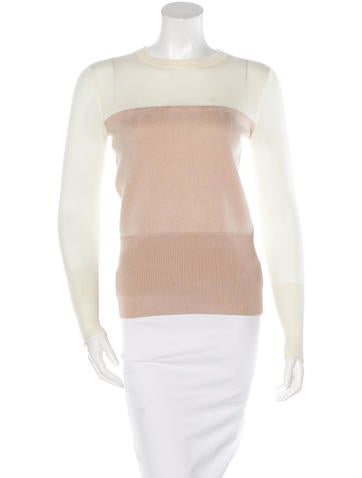 Rag & Bone Wool Colorblock Sweater None