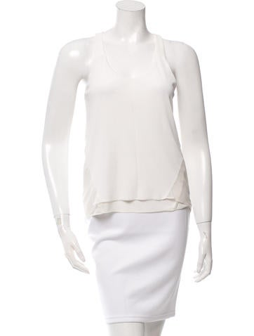 Rag & Bone Ivory  Rib Knit Top None