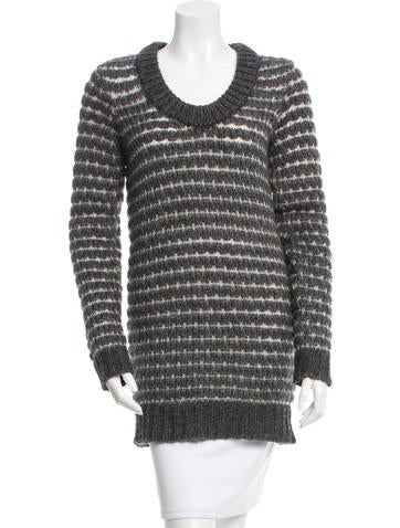 Rag & Bone Knit Scoop Neck Sweater None
