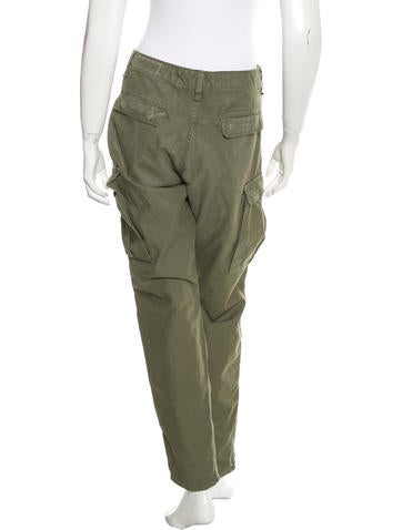 Mid-Rise Cargo Pants