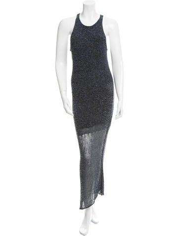 Rag & Bone Silk-Blend Maxi Dress None