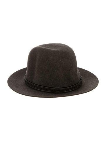 Rag & Bone Wool Fedora Hat None
