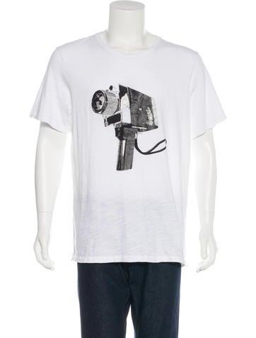 Rag & Bone Hand Camera T-Shirt None