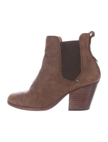 Rag & Bone Suede Chelsea Boots