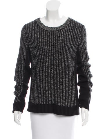 Rag & Bone Crew Neck Knit Sweater None